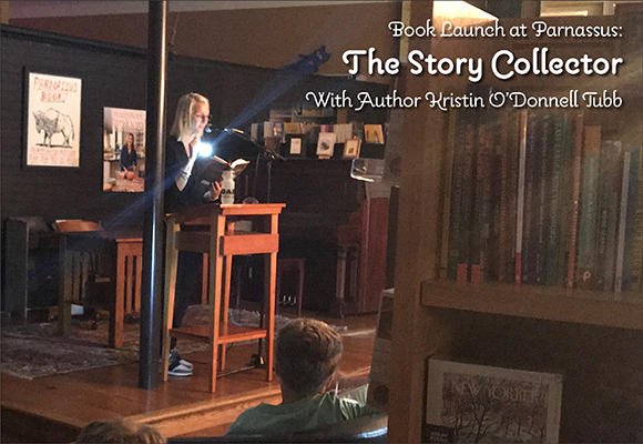 Book Launch at Parnassus for The Story Collector – with Author Kristin O'Donnell Tubb