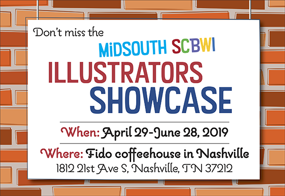 Fido, a local Nashville coffee house with quite a loyal clientele has offered to hang a selection of Midsouth illustrators' work. They request that we create a piece around a theme of summer. The show will be on display at Fido from April 29 to June 28, 2019. Fido is located at 1812 21st Ave S, Nashville, TN 37212. Midsouth illustrator members who are interested in participating can register here. Details about the project are posted in the Illustrator Lounge.
